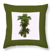 Zamites Tree Throw Pillow