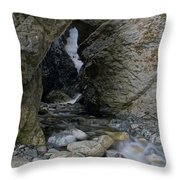 Zapata Falls Throw Pillow