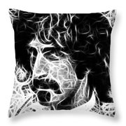 Zappa Throw Pillow