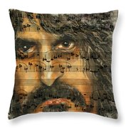 Zappa The Walz  Throw Pillow