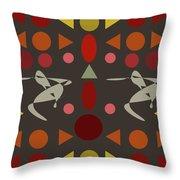 Zappwaits Dance Throw Pillow