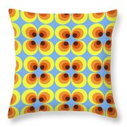 Zappwaits Retro 7 Throw Pillow
