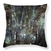Zauberwald Vollmondnacht Magic Forest Night Of The Full Moon Throw Pillow by Mimulux patricia no