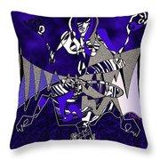 Zazen Jazz Throw Pillow