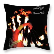 Zeal Quote Throw Pillow