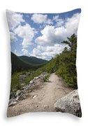 Zealand Notch - White Mountains New Hampshire Usa Throw Pillow