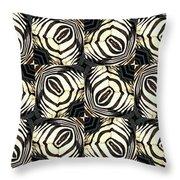 Zebra IIi Throw Pillow