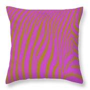 Zebra Shmebra Throw Pillow
