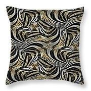Zebra Vii Throw Pillow