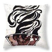 Zebratini Throw Pillow