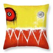 Zeeko Abstract #104 Throw Pillow