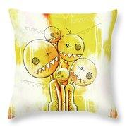 Zeeko Abstract #101 Throw Pillow