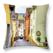 Zell Mosel Village Germany Throw Pillow
