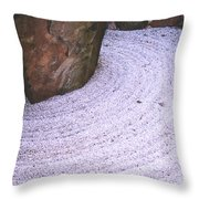 Zen Circle  Throw Pillow