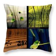 Zen For You Throw Pillow by Susanne Van Hulst