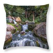 Zen Garden Throw Pillow