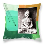 Zen Moments Throw Pillow