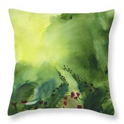 Zen Mountain Throw Pillow