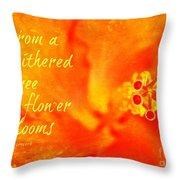 Zen Proverb 3 Throw Pillow