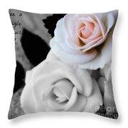 Zen Proverb 5 Throw Pillow