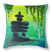 Zen Time Throw Pillow