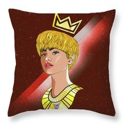 Zendaya Drawing Illustration  Throw Pillow