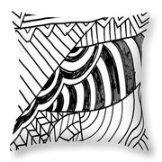 Zendoodle Design Throw Pillow