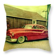 Zephyr Fuel Throw Pillow