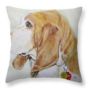 Zepp Throw Pillow