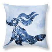 Zero-blue Throw Pillow