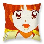 Zero No Tsukaima Throw Pillow