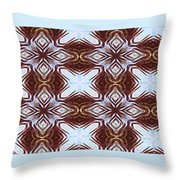 Zeroing In On The Color Blue Throw Pillow