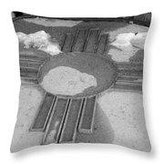 Zia Sun Throw Pillow