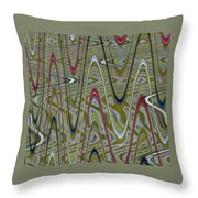 Zigoptical Throw Pillow