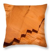 Zigzag Sandstone Throw Pillow