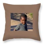 Zimbabwe Warmth Throw Pillow