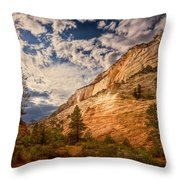 Zion Afternoon Throw Pillow