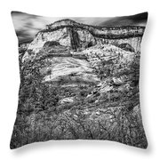 Zion Landscape Throw Pillow