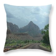 Zion National Park 1 Throw Pillow
