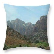 Zion National Park 3 Throw Pillow