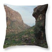 Zion National Park 4 Throw Pillow