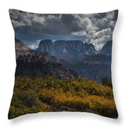 Zion-rock On Throw Pillow