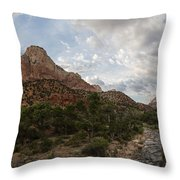 Zion Sunset  Throw Pillow