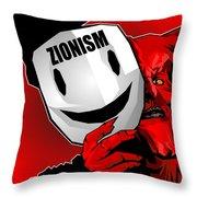 Zionism Devil Throw Pillow