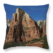 Zion's Patriarchs Throw Pillow