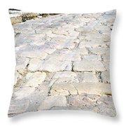 Zippori Roman Capital Of The Galilee Region Throw Pillow