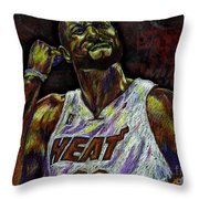 Zo Throw Pillow by Maria Arango