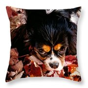Zoeh - Look Into My Eyes Throw Pillow