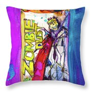 Zombie Dust By 3 Floyds Brewing Co.  Throw Pillow