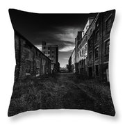 Zombieland The Fort William Starch Company Throw Pillow